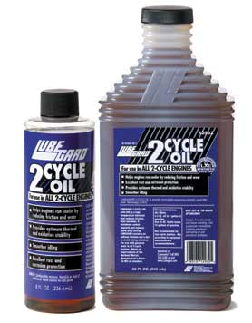 lubegard  2 cycle oil is a